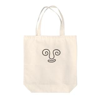 かいぐり Tote bags