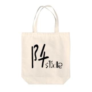 阡slide Tote bags