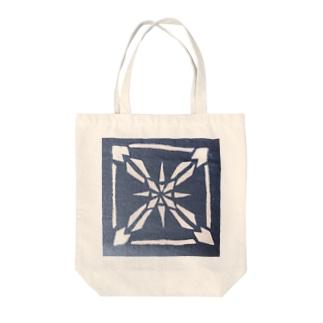 雪ノ結晶 シカク Tote bags