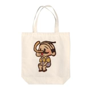 待機園長シリーズ(ピノキオ) Tote bags