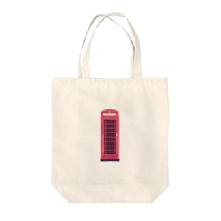 イギリスのテレフォンボックス Tote bags