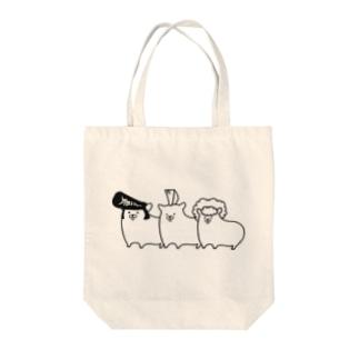 シンプルハムスター Tote bags