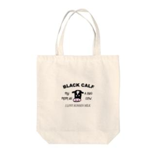 BLACK CALF Tote bags