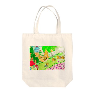 popopom777のりすのせいかつ Tote bags
