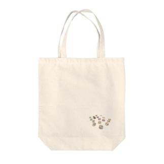 ビジューみたいな力ボタン💎 Ongakus Tote bags