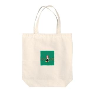 緑の女の子 Tote bags