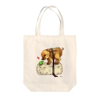 穴子のお寿司(ワサビ入り) Tote bags