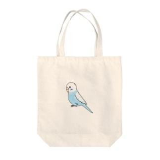 ピと休み インコ Tote bags