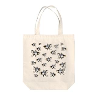 雅錦×ツイスト Tote bags