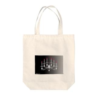 キャンドル 1 Tote bags