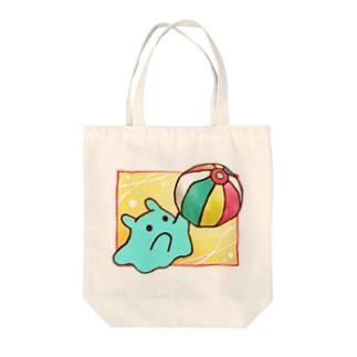 紙ふうせん【水星人のスイスイちゃん】 Tote bags