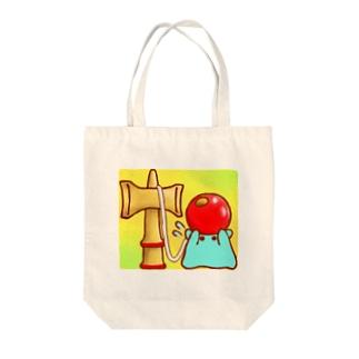 けん玉【水星人のスイスイちゃん】 Tote bags