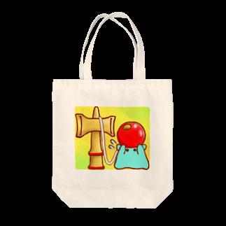 ひじりやノエルのけん玉【水星人のスイスイちゃん】 Tote bags