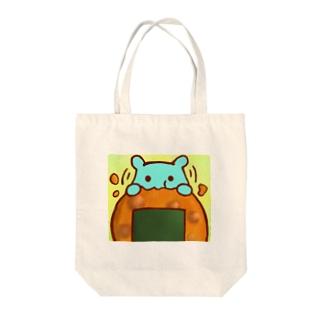 おせんべい【水星人のスイスイちゃん】 Tote bags