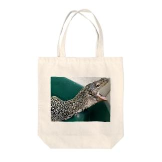 おミズぐっず(マングローブオオトカゲ) Tote bags