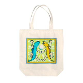 ししゃもパーリー【カラフルししゃも】 Tote bags