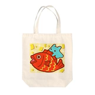 おめで鯛【水星人のスイスイちゃん】 Tote bags