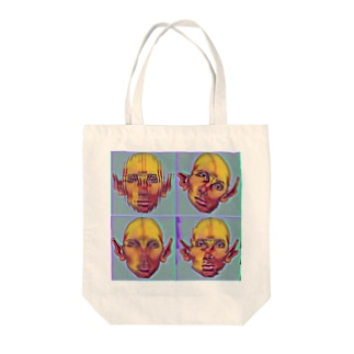 えいりあん Tote bags