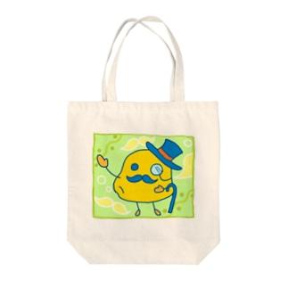 おヒゲ【じゃが芋男爵】 Tote bags