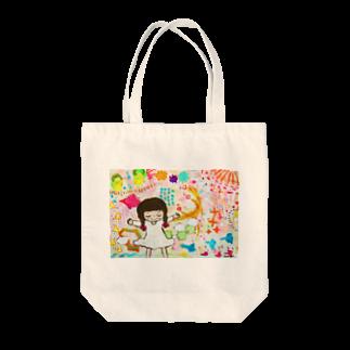 ミロクルミの世界の空気 Tote bags