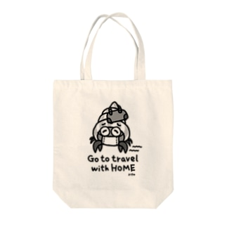 Go to travel with HOME(typeA) Tote bags