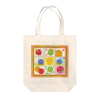 まるボックル曼荼羅【丸い妖精・まるボックル】 Tote bags
