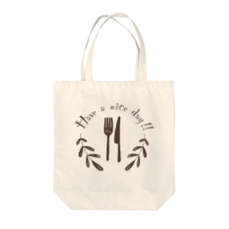 Have a nice day🍴 Tote bags