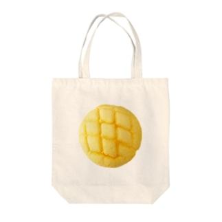 メロンパンを持ち歩きたいがゆえに Tote bags