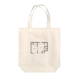 間取り Tote bags