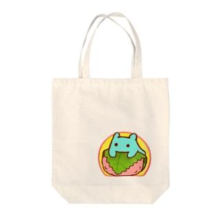 桜餅【水星人のスイスイちゃん】 Tote bags