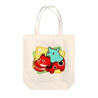 赤べこ【水星人のスイスイちゃん】 Tote bags