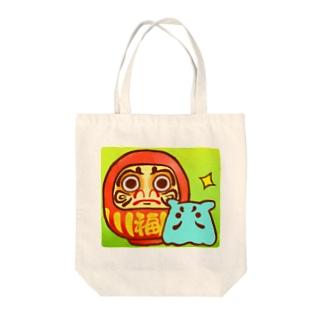 だるま【水星人のスイスイちゃん】 Tote bags