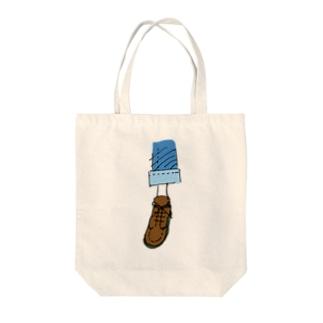 誰かの足 Tote bags