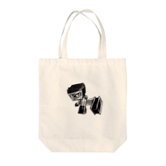 ジュウテツくん Tote bags