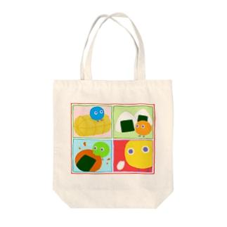 お米一粒【丸い妖精・まるボックル】 Tote bags