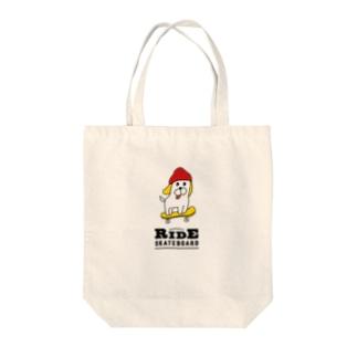 ワンダフルな犬(バッグ) Tote bags
