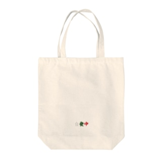 三元牌「素碧紅」 Tote bags