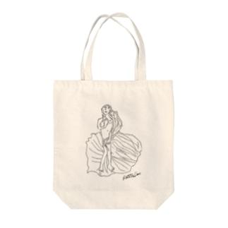 ヴィーナスの誕生 Tote bags