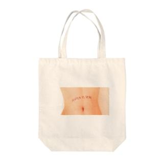 HEAVEN IS HERE Tote bags
