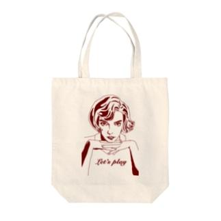 天才少女 Tote bags