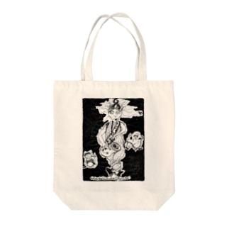 沢ちゃん♪のDrive_black Tote bags
