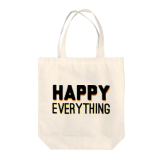 HAPPY EVERYTHING Tote bags