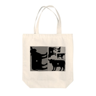 A5牛 Tote bags