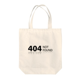 404 NOT found Tote bags