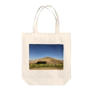山と花と月 Tote bags