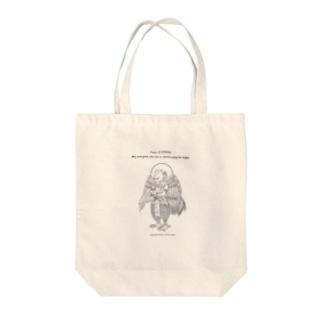 迦楼羅神_ Tote bags