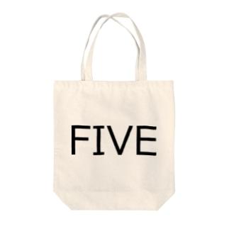 たまに見るアレ風FIVE Tote bags