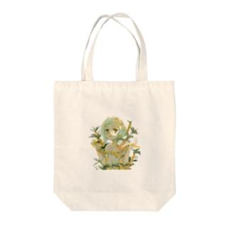 金木犀と金平糖 Tote bags
