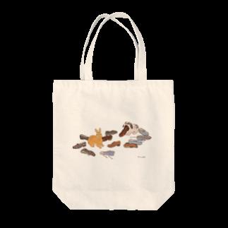 SCHINAKO'Sのいたずらしたのは誰? Tote bags