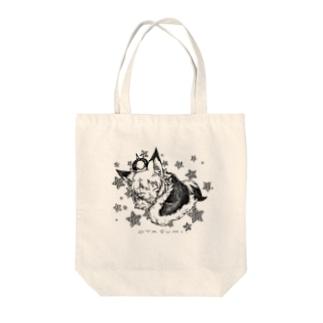 OYASUMI Tote bags